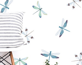 vintage dragonfly collection  craft,fabric,glass,furniture,wall art