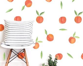 Decal Sticker Wall Decal Wall Sticker Decoration Fruit Fruit Fruits Fruit Kitchen