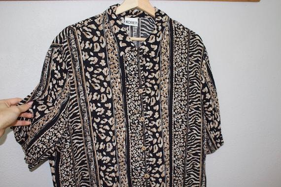 koret licorice blouse