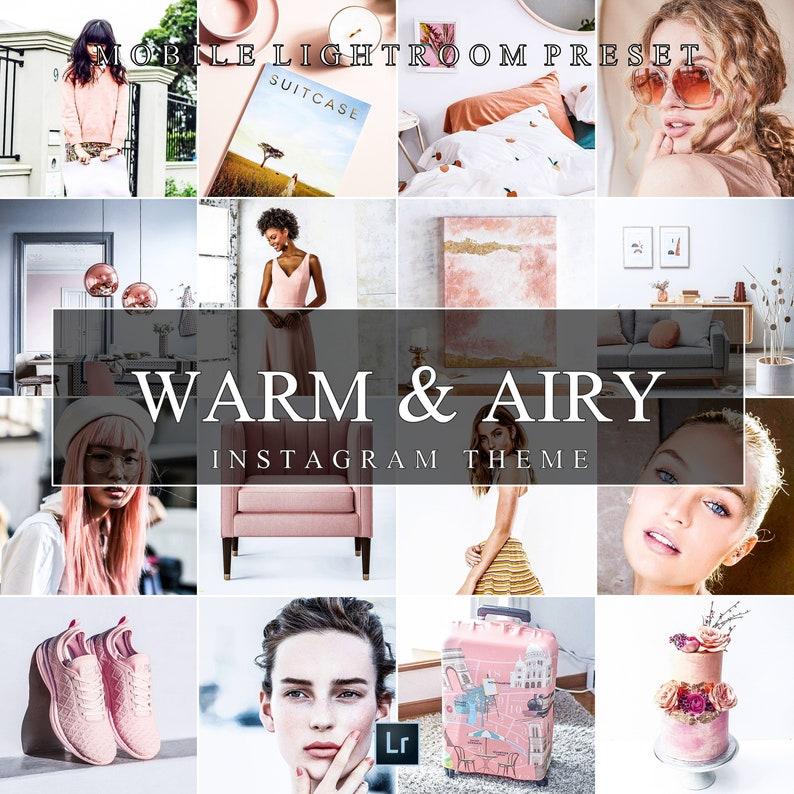 Mobile Lightroom Preset WARM & AIRY, Instagram Wedding Filter, Blogger  Presets | Adobe Lightroom Presets
