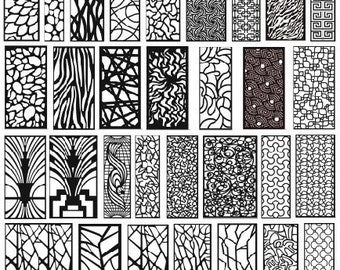 Collection 40000 files vector panel for plasma laser cut cnc dwg dxf metal art