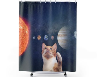 Your Cat Personalized Shower Curtain