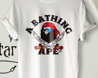 720d9b41cbca Bathing Ape Pirate Shirt