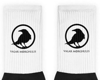 be76ed629 Valar Morghulis Socks