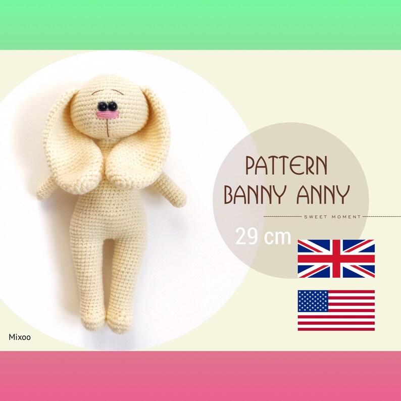 Crochet pattern «Banny ANNY» (pdf)