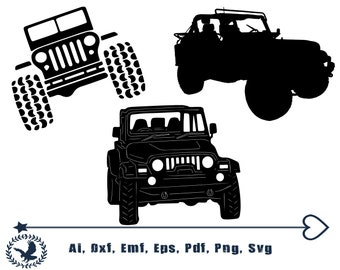 Jeep Silhouette Etsy