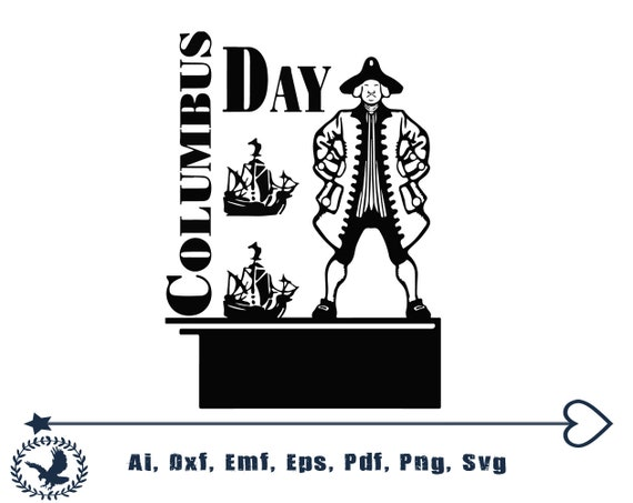 Columbus Day Jpgpngepssvg Etsy