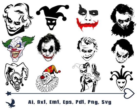 Joker Svg Cut Files Why So Serious Svg Joker Cricut Files Etsy