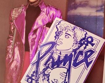 Prince mini riso zine