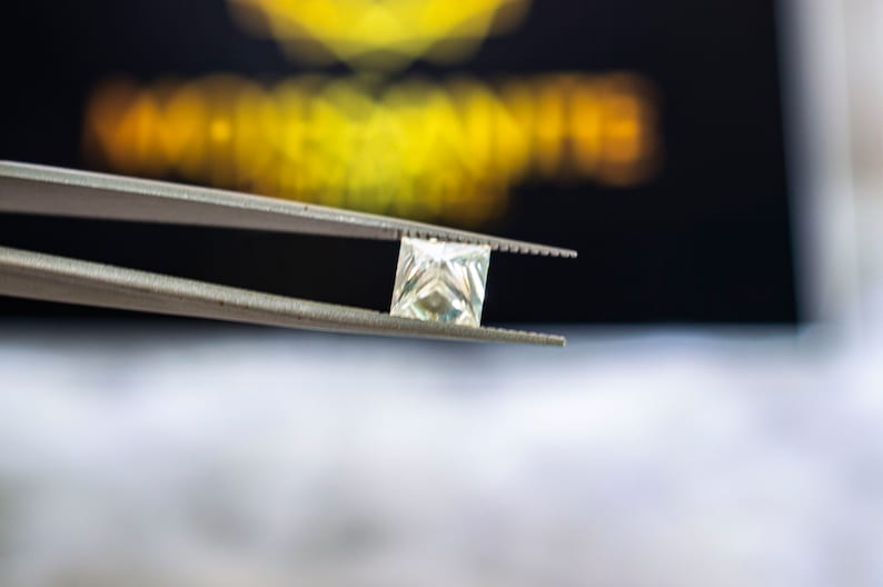 best Alternatives for Diamond Jewelry 1.0ct to 5.62ct Loose Moissanite Princess Cut EF Color Brilliant Moissanite Universe