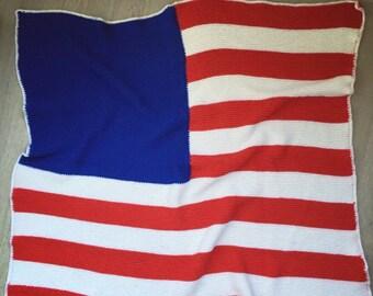 Deken Amerikaanse Vlag.Usa Vlag Deken Etsy