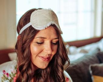 Sleep Mask - Eye Mask - Sleepwear - Travel Mask - Sleep Mask for Women - Eye Cover - Floral Eye Mask