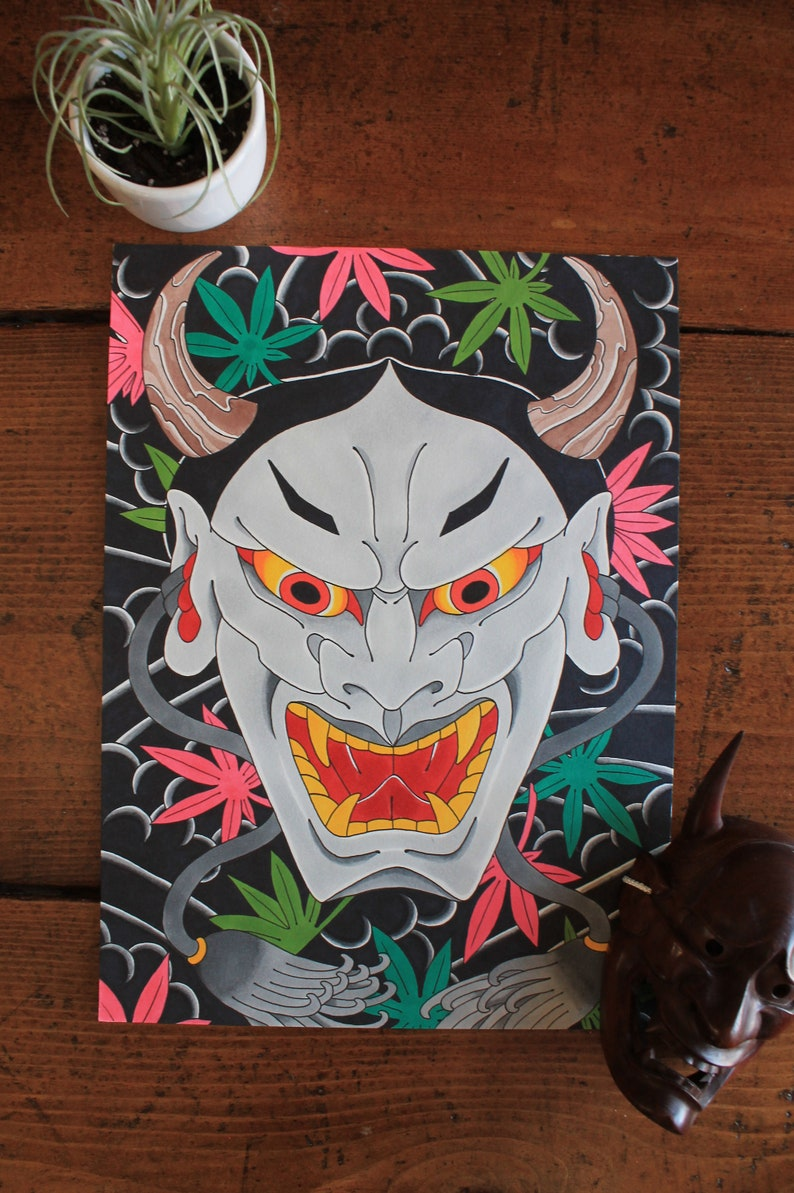 Hannya/Maple Leaves - 2019