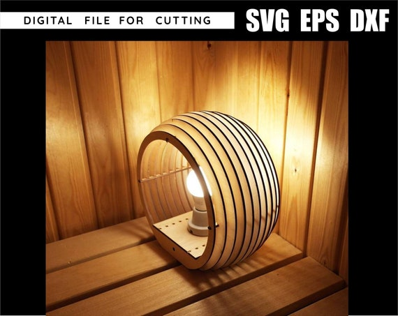 CNC wood lamp cnc file,file cnc,laser cutting,cnc,file svg,file laser,laser cut,cnc plan,dxf file,cnc files