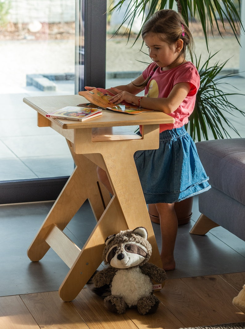 Active Desk Kids  Height-Adjustable Standing Desk For A Kid image 0