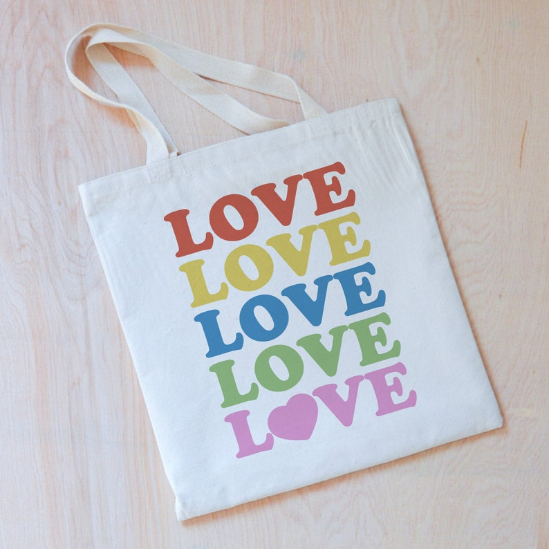 Love Rules Tote