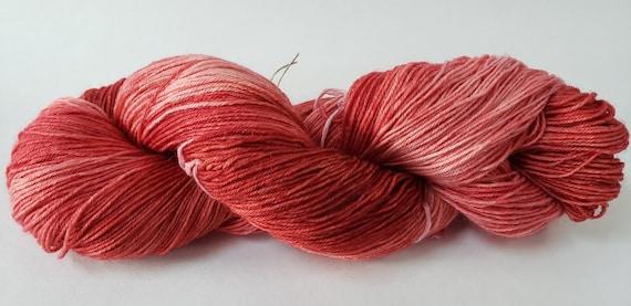 7525 Blend Fingering Weight Yarn Tonal Teal Superwash MerinoNylon