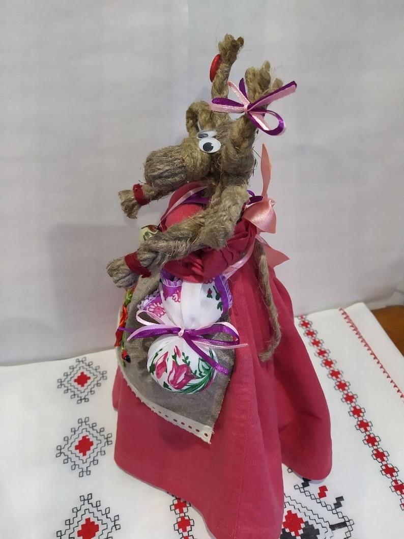 Ukrainian toy Toy from linen threads Koza Ukrainian Motanka Ukrainian art