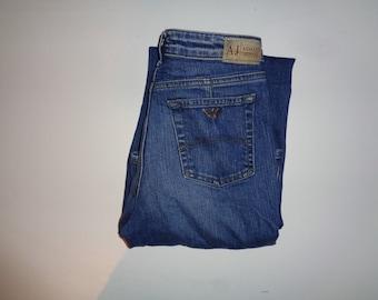 32400f6a13bd1a Armani dark blue denim jeans Waist 28