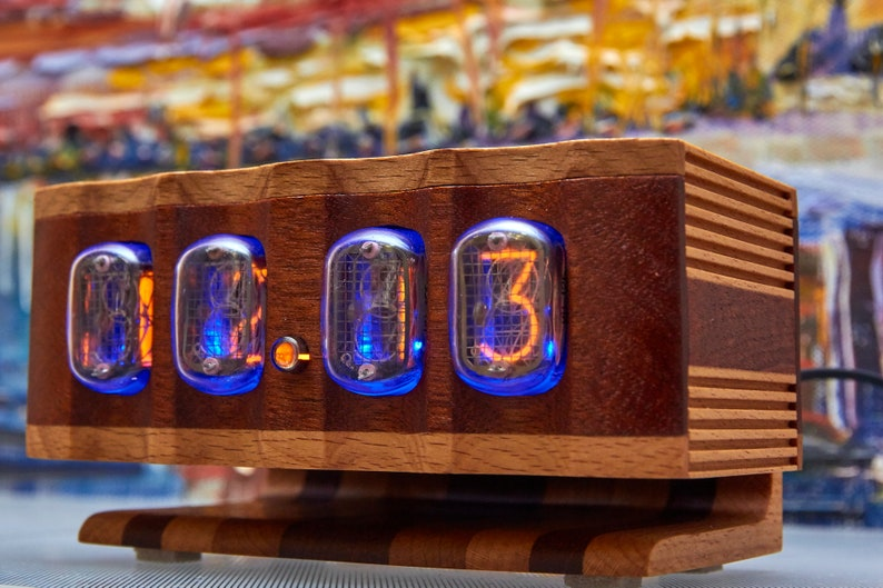 horloge nixie 4 chiffres