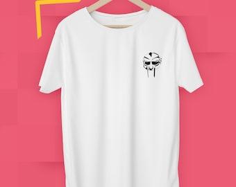 6b2b373cef9 MF Doom Mask Through The Ages Shirt Music Rap Hip Hop Zev Love X Men's  Women's Graphic Size S M L XL 2XL T Shirt