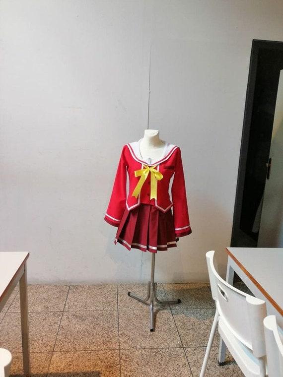 Anime Charlotte Tomori Nao Cosplay Costume Anime  School Uniform Skirt Track