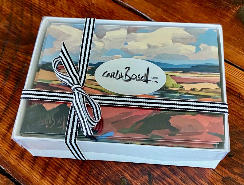 Boxed Set 20 All Occasion Greeting Cards  Blank inside note image 0