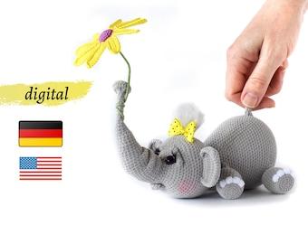 Free crochet elephant pattern - Amigurumi Today - Amigurumi ... | 270x340