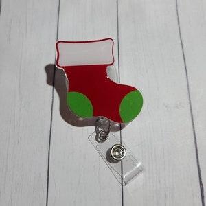 Christmas Comet Coco Retractable Badge  Holder Christmas Badge Reel-Holiday Badge Reel Cute  Badge Reel Funny Badge Reel