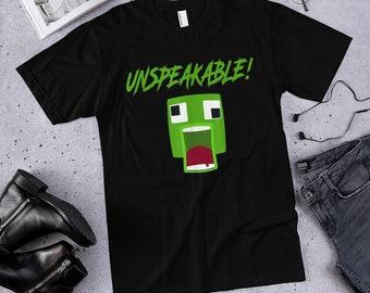 a827c854 UNSPEAKABLE Minecraft T-Shirt Fan