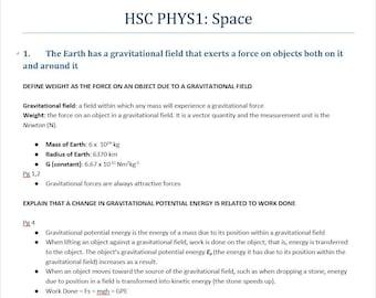 Hsc Physics Notes