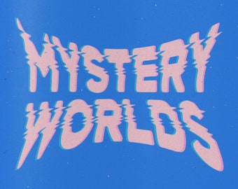 Mystery Worlds // Limited Edition // First Edition // Colouring Book