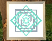 More At Play: Geometric / Optical/ Op Art Fine Art Print