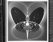 Space. Time. Spirit - Fine Art Print