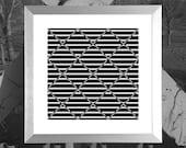 """Moire/ Optical/ Op Art Fine Art Print: """"Changing Times"""""""