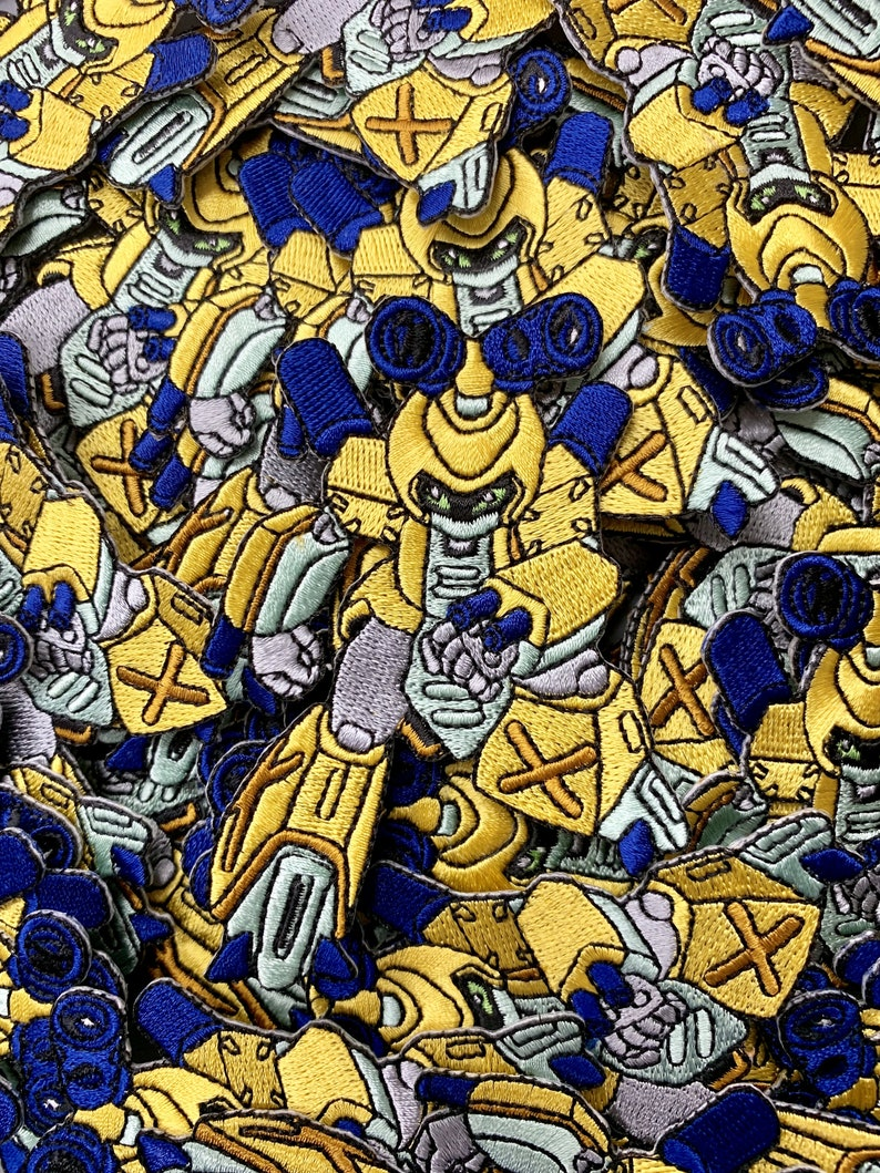 Metabee Medabots Custom Embroidered Iron-OnSew-On Patch Custom Patches Patches Limited Edition Patch Custom Patch Rokusho