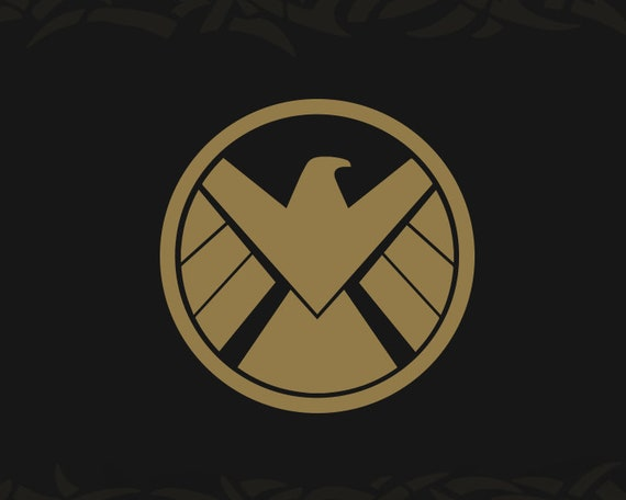 shield logo marvel decal vinyl window Agents of S.H.I.E.L.D