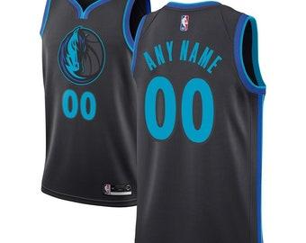 42556d8c Custom Dallas Mavericks basketball jersey WHITE/black/BLUE 3 colors  available