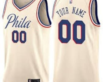 9742acb9a Custom Philadelphia 76ers basketball jerseys 4 colors available