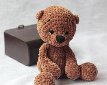 Aurora Bonnie Bear 9 In Baby Soft Toy Teddy Blue Girl Boy Toddler Baby Shower