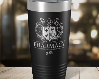 Grit and Grace Laser Etched Insulated Stainless Steel Tumbler 12 Colors /& 3 Sizes Available
