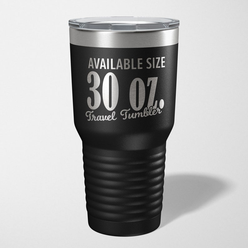 12 Colors /& 3 Sizes Available Laser Etched Insulated Stainless Steel Tumbler Happy Seasonal Depression Month