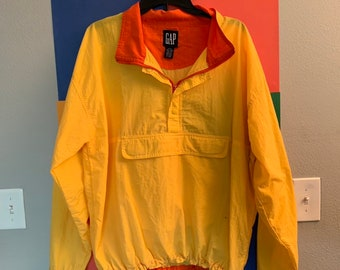 04d08706 Authentic Vintage Early 90s GAP Windbreaker