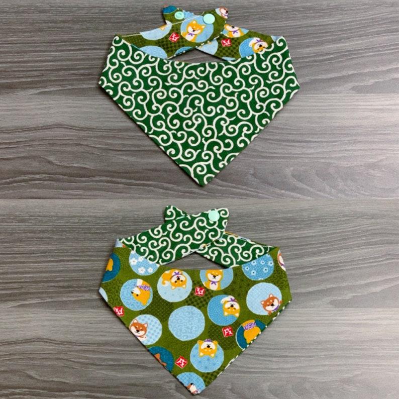 Karakusa Shiba Two-Sided Reversible Bandana