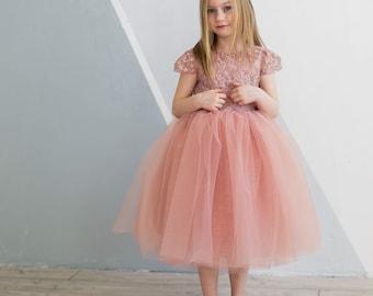 06286423f22f3 Elegant girls dress | Etsy