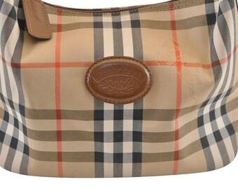 388d38514346 Authentic Burberry Nova Check Hand Bag