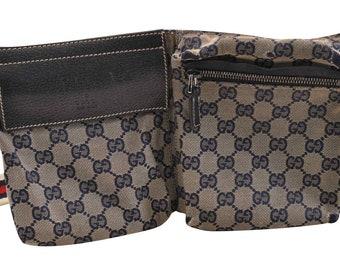 ada9259056f3 Authentic Gucci GG Waist Bag