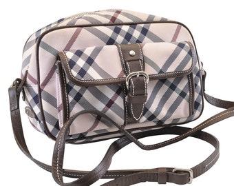 87408f994e57 Authentic Burberry Nova Check Shoulder Bag