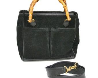 3fcf77fe5d1675 Authentic Gucci Bamboo Shoulder Bag