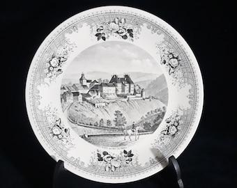 Large Villeroy & Boch Porcelain Collector's Plate